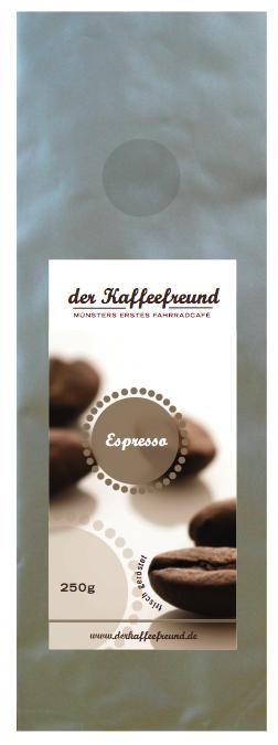 Der Espresso vom Kaffeefreund